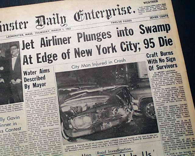 Prima pagina accident aviatic American Airlines 1