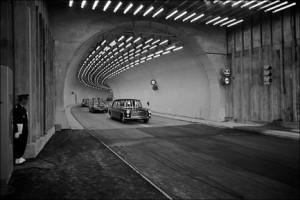 Inaugurarea tunelului Mont Blanc